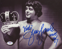 "Jerry ""The King"" Lawler Signed WWE 8x10 Photo Inscribed ""WWE"" & ""HOF 07"" (PSA COA) at PristineAuction.com"