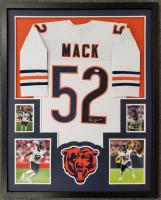 Khalil Mack Signed Custom Framed Jersey (JSA COA) at PristineAuction.com