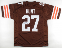 Kareem Hunt Signed Jersey (JSA COA) at PristineAuction.com