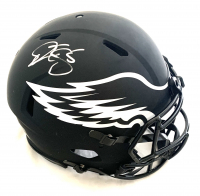 Donovan McNabb Signed Eagles Full-Size Authentic On-Field Eclipse Alternate Speed Helmet (Beckett COA) at PristineAuction.com