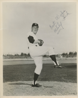 "Whitey Ford Signed Yankees 8x10 Photo Inscribed ""Best Wishes"" (Beckett COA) at PristineAuction.com"