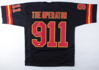 """Robert O'Neill Signed Jersey Inscribed """"Never Quit"""" (PSA COA) at PristineAuction.com"""