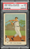 Ted Williams 1959 Fleer #38 1949 Power Rampage (PSA 6) at PristineAuction.com