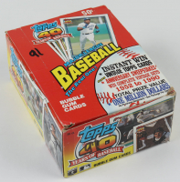 "1991 Topps ""40 Years of Baseball"" Box of (36) Wax Packs (See Description) at PristineAuction.com"