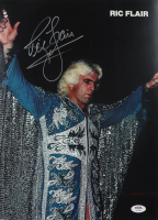 Ric Flair Signed WWE 11x14 Photo (PSA COA) at PristineAuction.com