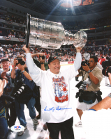 Scotty Bowman Signed Red Wings 8x10 Photo (PSA COA) at PristineAuction.com