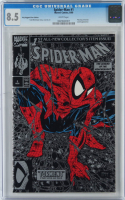 """1990 """"Spider-Man: The Legend of the Arachknight"""" Issue #1 Silver Edition Marvel Comic Book (CGC 8.5) at PristineAuction.com"""