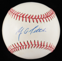 Y. A. Tittle Signed ONL Baseball (Beckett COA) at PristineAuction.com