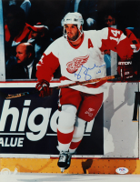 Robby Fabbri Signed Red Wings 11x14 Photo (PSA COA) at PristineAuction.com