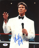 Michael Buffer Signed 8x10 Photo (PSA COA) at PristineAuction.com