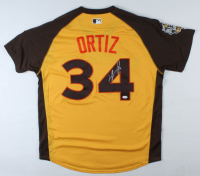 David Ortiz Signed 2016 All-Star Game Jersey (JSA COA) at PristineAuction.com