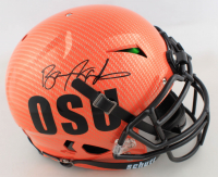 Barry Sanders Signed Oklahoma State Cowboys Full-Size Helmet (Schwartz COA) at PristineAuction.com