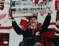 Scotty Bowman Signed Red Wings 11x14 Photo (PSA COA) at PristineAuction.com