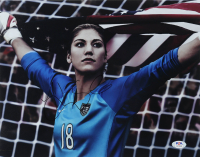 Hope Solo Signed Team USA 11x14 Photo (PSA COA) at PristineAuction.com