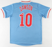 "Andre Dawson Signed Jersey Inscribed ""77 N.L. ROY"" (JSA COA) (See Description) at PristineAuction.com"
