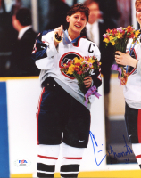 Cammi Granato Signed Team USA 8x10 Photo (PSA COA) at PristineAuction.com
