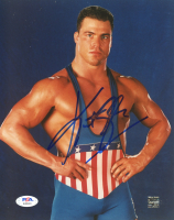 Kurt Angle Signed WWE 8x10 Photo (PSA Hologram) (See Description) at PristineAuction.com