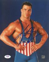 Kurt Angle Signed WWE 8x10 Photo (PSA Hologram) (See Description) at PristineAuction.com