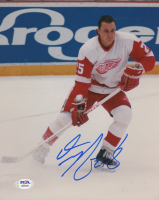Darren McCarty Signed Red Wings 8x10 Photo (PSA COA) at PristineAuction.com