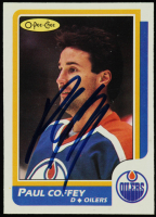 Paul Coffey 1986-87 O-Pee-Chee #137 (JSA COA) at PristineAuction.com