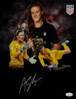 Alyssa Naeher Signed 11x14 Photo (JSA COA) at PristineAuction.com