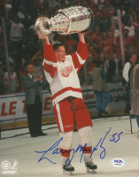 Larry Murphy Signed Red Wings 8x10 Photo (PSA COA) at PristineAuction.com