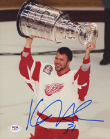Kevin Hodson Signed Red Wings 8x10 Photo (PSA COA) at PristineAuction.com