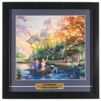 "Thomas Kinkade Walt Disney's ""Pocahontas"" 16x16 Custom Framed Print Display at PristineAuction.com"