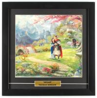 "Thomas Kinkade Walt Disney's ""Mulan"" 16x16 Custom Framed Print Display at PristineAuction.com"