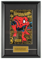 "Vintage 1990 ""The Amazing Spider-Man: Torment Part 1"" 12x17 Custom Framed First Issue Marvel Comic Book at PristineAuction.com"