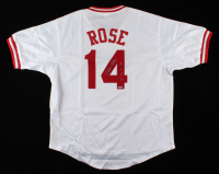 "Pete Rose Signed Jersey Inscribed ""4256"" (TriStar Hologram) at PristineAuction.com"