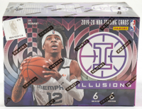 2019-20 Panini Illusions Basketball 6-Pack Blaster Box of (36) Cards at PristineAuction.com