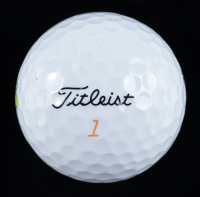 Rickie Fowler Signed Masters Logo Golf Ball (PSA LOA) at PristineAuction.com