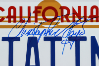 """Christopher Lloyd Signed """"Back to the Future"""" California License Plate (Beckett COA) at PristineAuction.com"""