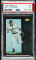Alex Rodriguez 1994 Upper Deck #24 RC (PSA 7) at PristineAuction.com