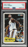 Chris Webber 1993-94 Fleer #292 RC (PSA 7) at PristineAuction.com