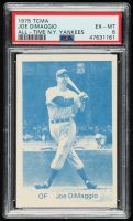 Joe DiMaggio 1975 Yankees All-Time Team TCMA #2 (PSA 6) at PristineAuction.com