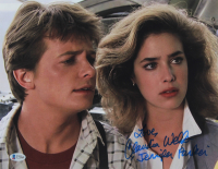 """Claudia Wells Signed """"Back To The Future"""" 11x14 Photo Inscribed """"Love"""" & """"Jenifer Parker"""" (Beckett COA) at PristineAuction.com"""