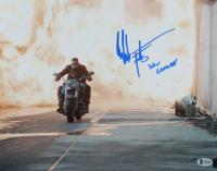 "Edward Furlong Signed ""Terminator 2: Judgement Day"" 11x14 Photo Inscribed ""John Connor"" (Beckett Hologram) at PristineAuction.com"