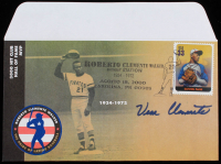 Vera Clemente Signed 2000 FDC Envelope (Schulte Sports Hologram) at PristineAuction.com