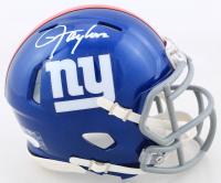 Lawrence Taylor Signed Giants Speed Mini Helmet (JSA COA) at PristineAuction.com