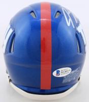 Jeremy Shockey Signed Giants Speed Mini Helmet (Beckett COA) at PristineAuction.com