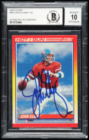 John Elway Signed 1990 Score #564 HG (BGS Encapsulated) at PristineAuction.com