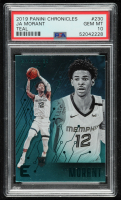 Ja Morant 2019-20 Panini Chronicles Teal #230 / Essentials (PSA 10) at PristineAuction.com