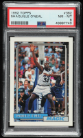 Shaquille O'Neal 1992-93 Topps #362 RC (PSA 8) at PristineAuction.com
