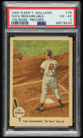 Ted Williams 1959 Fleer #76 On Base Record (PSA 4) at PristineAuction.com