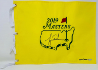 Tiger Woods Signed 2019 Masters LE Pin Flag (UDA COA) at PristineAuction.com