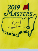 Tiger Woods Signed 2019 Masters LE Pin Flag (UDA COA) at PristineAuction.com