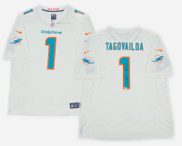 Tua Tagovailoa Signed Dolphins LE Jersey with Multiple Inscriptions (Fanatics Hologram) at PristineAuction.com