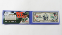 Dale Earnhardt Jr. NASCAR Genuine Legal Tender U.S. $2 Bill Commemorative Edition Bank Note at PristineAuction.com